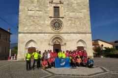 40°  GEV  Escursione E1 , Borgo Rosciolo e S.M in Valle Porclaneta